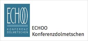 Logo Echooo Konferenzdolmetschen